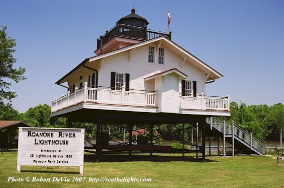 Roanoke River Lighthouse, Plymouth, NC